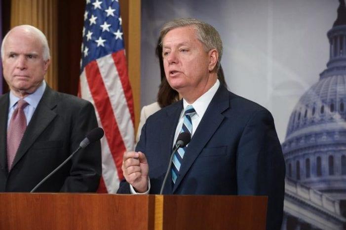 Graham (R-South Carolina) has written to President Obama regarding U.S. troop levels in Afghanistan