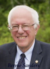 Sanders visits Kenneth Hahn Park